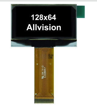 Allvision OLED Display Module , Monochrome Oled Display Free Viewing Angle