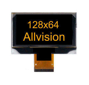 "2.4"" OLED Display Module Yellow Blue Or White Characters In Black Background"